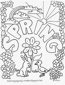 coloring pages for kids by mr adron spring free coloring page for kids