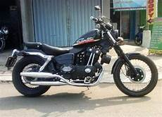Kaisar Ruby Modif Sportster by Classic Bikers Shop Moge Sportster 250 Cc 25 Juta