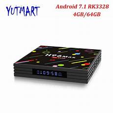 Rk3328 64gb Android Wifi Bluetooth Hdr10 by H96 Max H2 4gb 64gb Android 7 1 Smart Tv Box Rk3328 2 4g 5