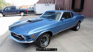 1970 Ford Mustang Mach I Fastback 351C Start Up Exhaust