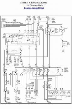 Exterior L Circuit Diagram Of 1998 Chevrolet Blazer