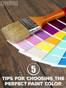 5 tips for choosing the perfect paint color