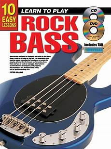 learning how to play the bass guitar 10 easy lessons learn to play rock bass