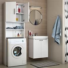 Badregal Hochschrank Waschmaschine Bad Schrank