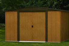 abris de jardin solde chalet jardin wl106 abri de jardin acier galvanis 233 marron 313 x 181 x 185 cm