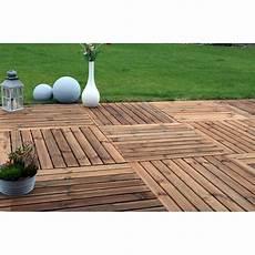 dalle de terrasse pin marron benoue 100 x 100 cm