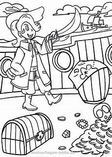 Malvorlagen Kostenlos Piraten Malvorlage Pirat Kostenlose Ausmalbilder