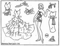 paper doll coloring pages 17642 mostly paper dolls elsie paper doll coloring contest 1960 1961
