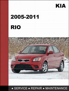 service and repair manuals 2010 kia rio electronic throttle control kia rio 2005 2011 oem factory service repair manual download tradebit
