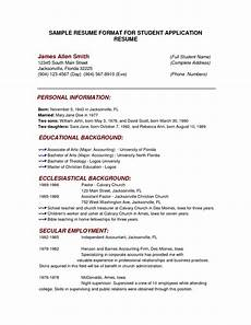 full block resume format style for business letter