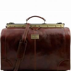 Grand Sac De Voyage Cuir Vintage Tuscany Leather