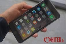 test iphone 6 plus le grand mod 232 le officiel fiche