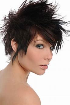 spiky hairstyle ideas for women