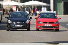 Auto Test Drive Opel Corsa Vw Polo Test Consumption