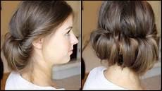 Einfache Frisuren Mit Haarband - eingedrehte haare ohne haarband frisuren freitag