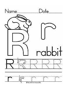 pre k letter r worksheets 24414 alphabet letter r rabbit preschool lesson plan printable activities and worksheets