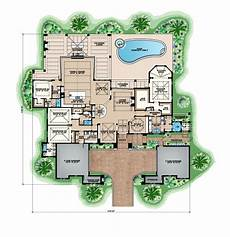 floridian house plans florida style house plan 175 1131 4 bedrm 4817 sq ft