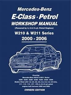 motor repair manual 2004 mercedes benz e class lane departure warning mercedes e class petrol workshop manual w210 w211 series