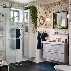 une salle de bain romantique et apaisante ikea