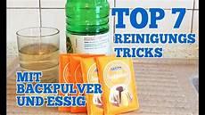 top 7 reinigungs tricks mit backpulver und essig f 252 r