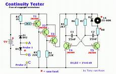 How To Build Continuity Tester Circuit Diagram