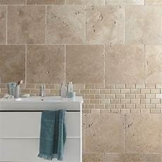 carrelage salle de bain travertin carrelage int 233 rieur antique en travertin beige 40 60 x