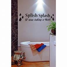 splish splash i was taking a bath splish splash i was taking a bath bathroom vinyl wall