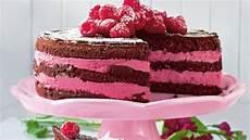 Schoko Himbeer Kuchen - himbeer joghurt schoko torte bild der frau