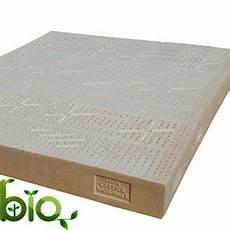 materasso naturale materasso bio lattice naturale matrimoniale 18 rigido la