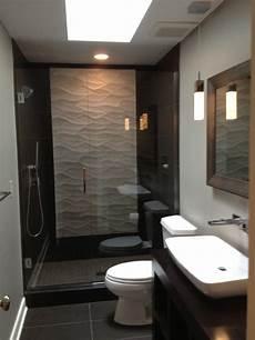 modernes badezimmer fliesen worthington guest bath modern bathroom