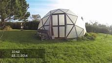 geodätische kuppel gewächshaus garten geod 228 tische kuppel 2014