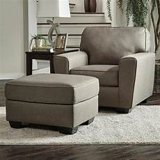 benchcraft calicho contemporary chair ottoman northeast factory direct chair ottoman sets
