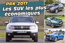 Prk 2017 Les 30 Suv Les Plus 233 Conomiques En