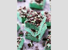 chocolate mint fudge_image