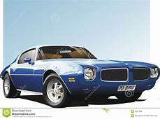 Blue Muscle Car Royalty Free Stock Photos  Image 2437328