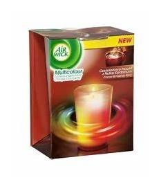 candele air wick air wick multicolour scented candle cocoa fireside glow