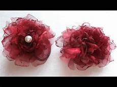 faire des fleurs en tissu pas 224 pas facile