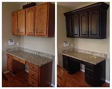 how to paint cabinets that have been stained online