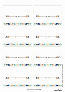 Indianische Muster Malvorlagen Indianerparty Printables