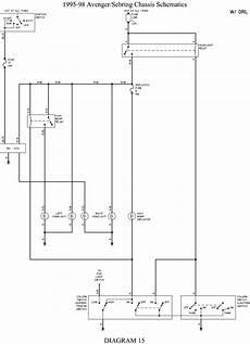 98 dodge avenger wiring diagrams repair guides wiring diagrams wiring diagrams autozone