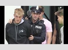 did jake paul get arrested
