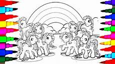 learn colors by coloring my pony g3 coloring pages