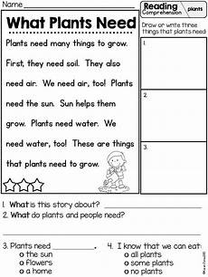 free printable worksheets on plants for grade 3 13687 resultado de imagen para practice about what does a plant need to grow aprendo a leer