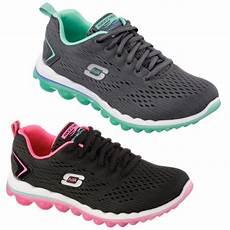 skechers skech air 2 0 memory foam shoes grey