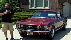 1967 ford mustang fastback classic muscle car for sale in mi vanguard motor sales youtube