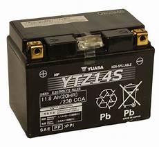 batterie moto honda batterie moto yuasa ytz14s 233 tanche agm 12v 11 2ah