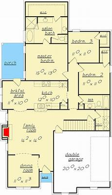 exclusive 3 bed house plan with game room 3 bed house plan with playroom upstairs 70316lzr