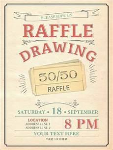 Raffle Ticket Fundraiser Flyer Poster Raffle Flyer Poster Template Event Flyer Templates