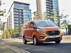 neuer ford transit custom frisches styling cleverer