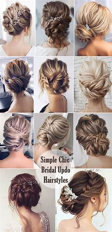 Simple Hairstyles For Hair For Wedding
